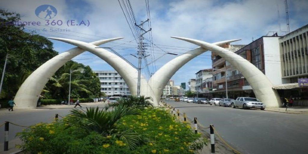 mombasa city tusks kenya excursion